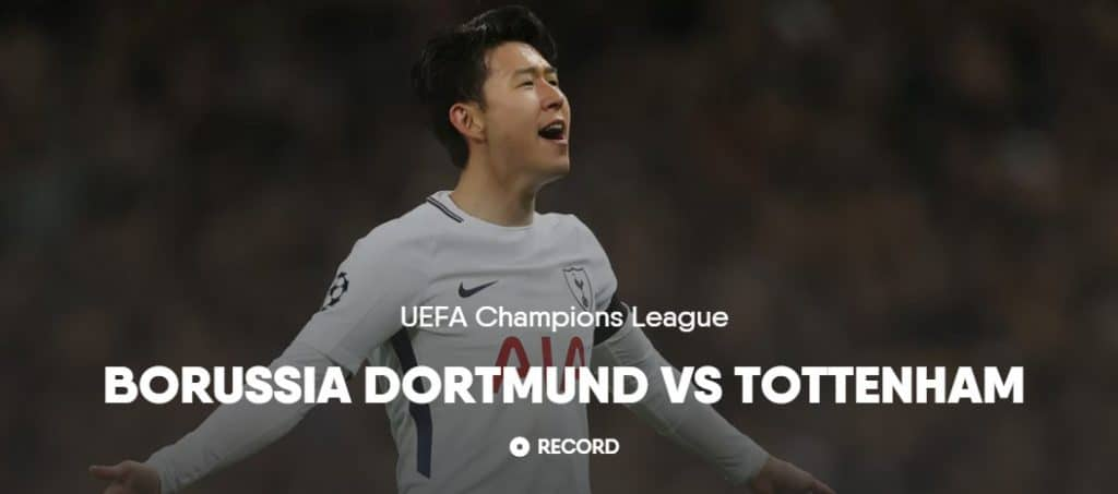 Watch Champions League football on FuboTV