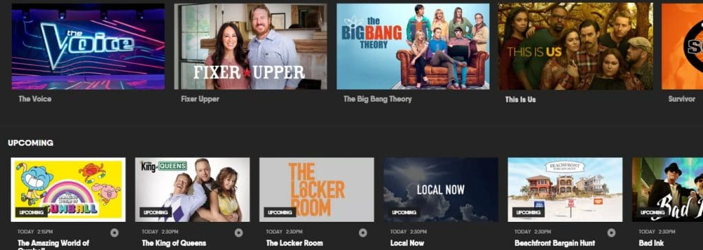 Lots of amazing TV shows coming to you with your FuboTV subscription
